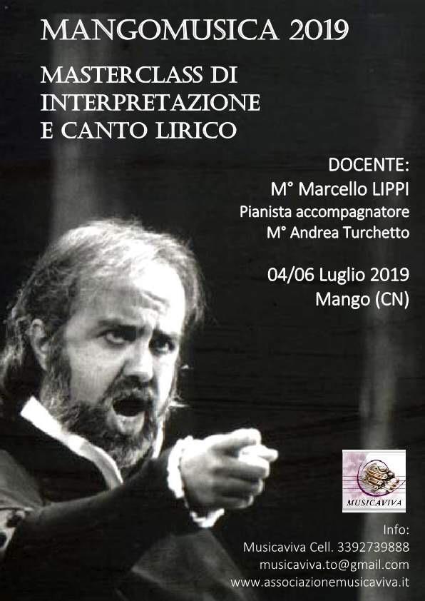 Masterclass Di Canto Lirico Ed Interpretazione Con Il Maestro Marcello Lippi